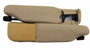 Seat Armrest Cover PVC Leather for Land Rover Range Rover P38 96 02 Beige