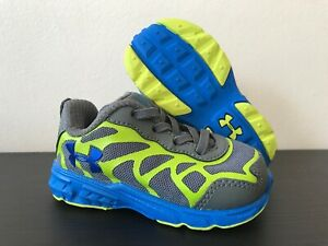 UNDER ARMOUR Kids Shoes Sneakers Infant Size 4 BRAND NEW