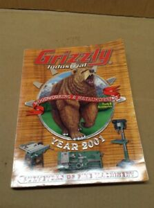 Grizzly Tools Reference amp; Sale Catalog 2001 MB 15 $24.99