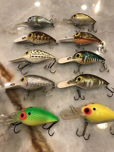 pre rapala wiggle wart Complete Set Of Japanese V Series
