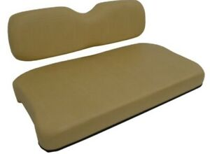 TAN EZGO TXT 95'-13' GOLF CART SEAT COVER  MARINE GRADE VINYL STAPLE ON