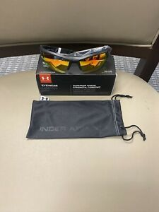 NEW! Under Amour Igniter 2.0 Sunglasses Orange Multiflection Lens