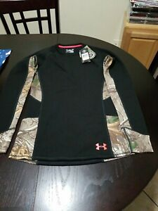 Under Armour women's Extreme base Realtree Hunting Shirt size SMALL