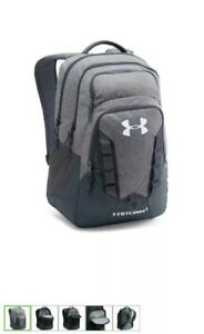 Under Armour Storm Recruit 2.0 grayblack backpack New