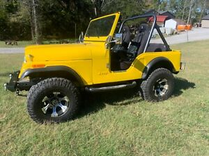 1980 Jeep CJ  1980 CJ5 Jeep completely restored