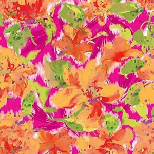 The Gift Wrap Company 5#x27; Gift Wrap Roll Sensory Floral 52 9303