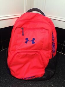 UNDER ARMOUR Neon Pink BACKPACK. Multi Compartment $18.00