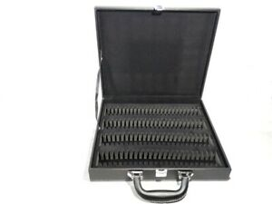 New Storage Display Box Case Faux Leather for 100 Silver Dollar Coins Holders $39.99