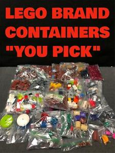 AUTHENTIC LEGO CONTAINERS BARRELS TREASURE CHEST BOX CRATE TRASH CAN quot;YOU PICKquot;
