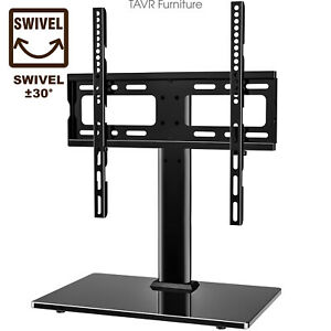 Universal TV Stand Base with Swivel Mount for 27
