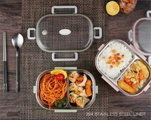 Winter Sale: Stainless Steel Thermal Insulated Lunch Box Bento Food Container