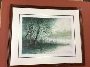 Pierre Mas Listed French Artist Limited Edition Lithograph 48225