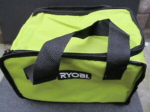 NEW Ryobi Empty Carrying Case tool bag for Cordless tools 8x10x12