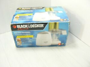 Black and Decker MiniPro Plus Food Processor MFP200T MFP200 NEW OPEN DAMAGED BOX