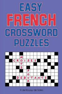 Easy French Crossword Puzzles $9.87