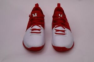 Under Armour Men Drive 4 Low Basketball Shoes Red White 3020414 101 Mens Size 11 $110.35