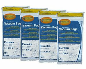 12 Eureka EX Allergy Bags Excalibur Home Cleaning System Oxygen 60284 60284A 126