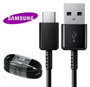 OEM Samsung USB Type C Fast Charger Cable Galaxy S9 S10 S20 Ultra Note 9 10 20 $2.55