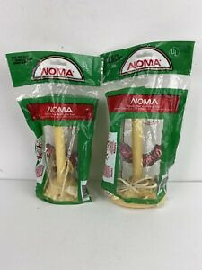 2 Vintage NOMA Christmas Window Table Electric Plastic Drip Candle Light NOS