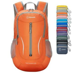 ZOMAKE Small Hiking Backpack, 25L Lightweight Travel Backpack Small, Orange