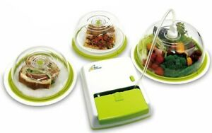 Prep and Seal Vacuum Sealing Food Storage for plates