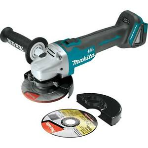 Makita XAG04Z 18V LXT Lithium-Ion Brushless Cordless 4-1/2 5 in. Cut-Off Grinder