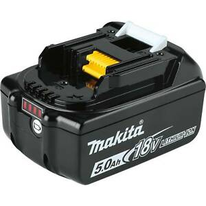 NEW GENUINE Makita LED GAUGE BL1850B Lithium Ion 18V Battery 5.0 AH 18 Volt Fuel $49.49