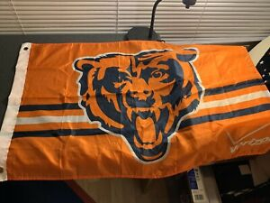 Chicago Bears NFL Football TAILGATE FLAG Classic Logo Man Cave 33 x 22 This Year