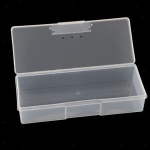 Rectangle Plastic Box Transparent Container Storage Blank Component Bead Jewelry $9.90