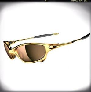 Very Rare! OAKLEY Juliet 24K w Titanium Polarized With Serial numberFrom JP