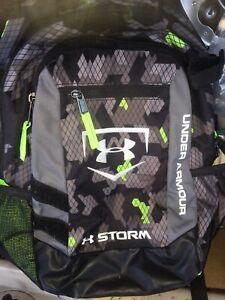 Under Armour Backpack Storm Unisex Green Black $20.00