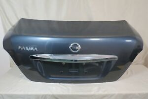 ✅ 09 10 11 12 13 14 Nissan Maxima Trunk Lid Rear Back Decklid BLUE w Lock OEM