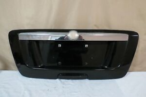 ✅ 05 06 07 08 09 Saab 9-7x 97x Trunk Lid License Panel Lights Garnish BLACK OEM
