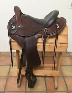 "15"" Used Crates Western Endurance Saddle Good Condition"