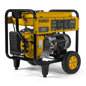 DeWALT 8000 Watt Electric Start Portable Generator reconditioned CO Protect