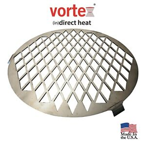 BBQ Vortex ™ Direct Sear Steak Grill Grate for Med BBQ Vortex Charcoal Accessory
