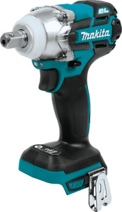 Makita XWT11Z 18V LXT® Brushless Cordless 3‑Speed 1 2quot; Impact Wrench Tool Only $74.00