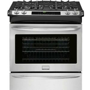 Frigidaire Gallery 30'' Slide-In Gas Range FGGS3065PF S.Steel - LOCAL PICK UP