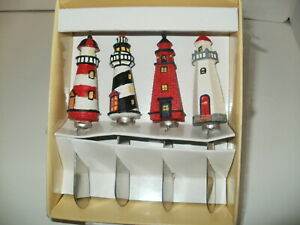 Lighthouse Cheese/ Butter Spreaders Set of 4 New