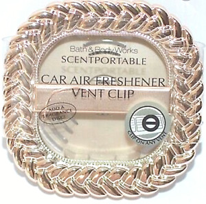 *New* GOLD BRAIDED ~ Vent Clip ~ Bath & Body Works ~ Ships Free!