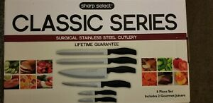 Sharp Select CHEF SERIES Surgical Stainless Steel Cutlery 6 Piece missing juicer