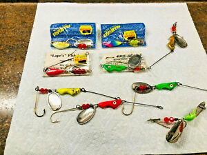 9 Storm Hot N Tot Pygmy Erie Dearie Fishing Lures New & Used Tackle Spinner Lot