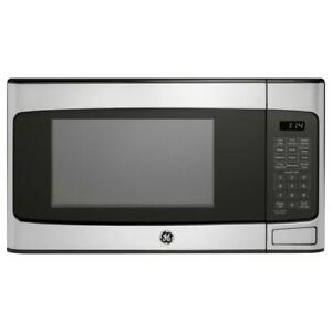 General Electric 1.1 Cu. Ft. Countertop Microwave Oven - Stainless Steel (PG-...