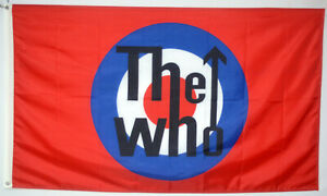 THE WHO FLAG BAND MUSIC ROCK AND ROLL BANNER 3X5FT US SELLER