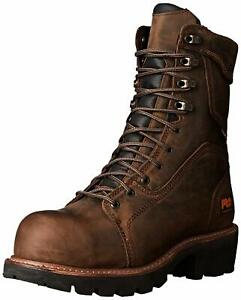 "Timberland PRO Men's Rip Saw 9"" Waterproof IN Comp Toe BR Work Boot"