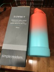 Simple Modern 84 oz Summit Water Bottle Insulated Stainless Steel Wide Mouth