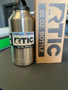 RTIC 64 Oz Bottle New Stainless Steel