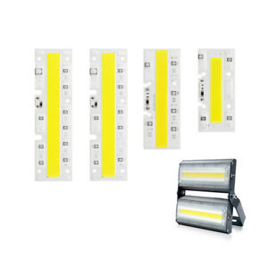 AC 220V High Power Light Lamp COB LED Chip Beads Smart IC Driver Integrated 100W