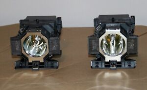 ELPLP 51 Epson Used Lamps with 174 Hours of Use on each.For Epson Pow.Z Series $139.00