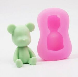 Cute Bear Silicone Molds Craft DIY Handmade Cake Soap Baking Chocolate Mold